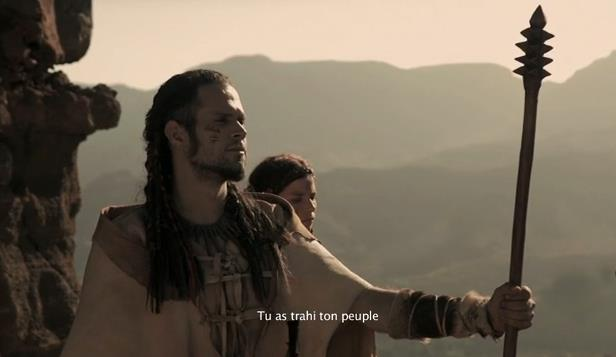 Fotograma de Bentejuí, la película. De Armando Ravelo