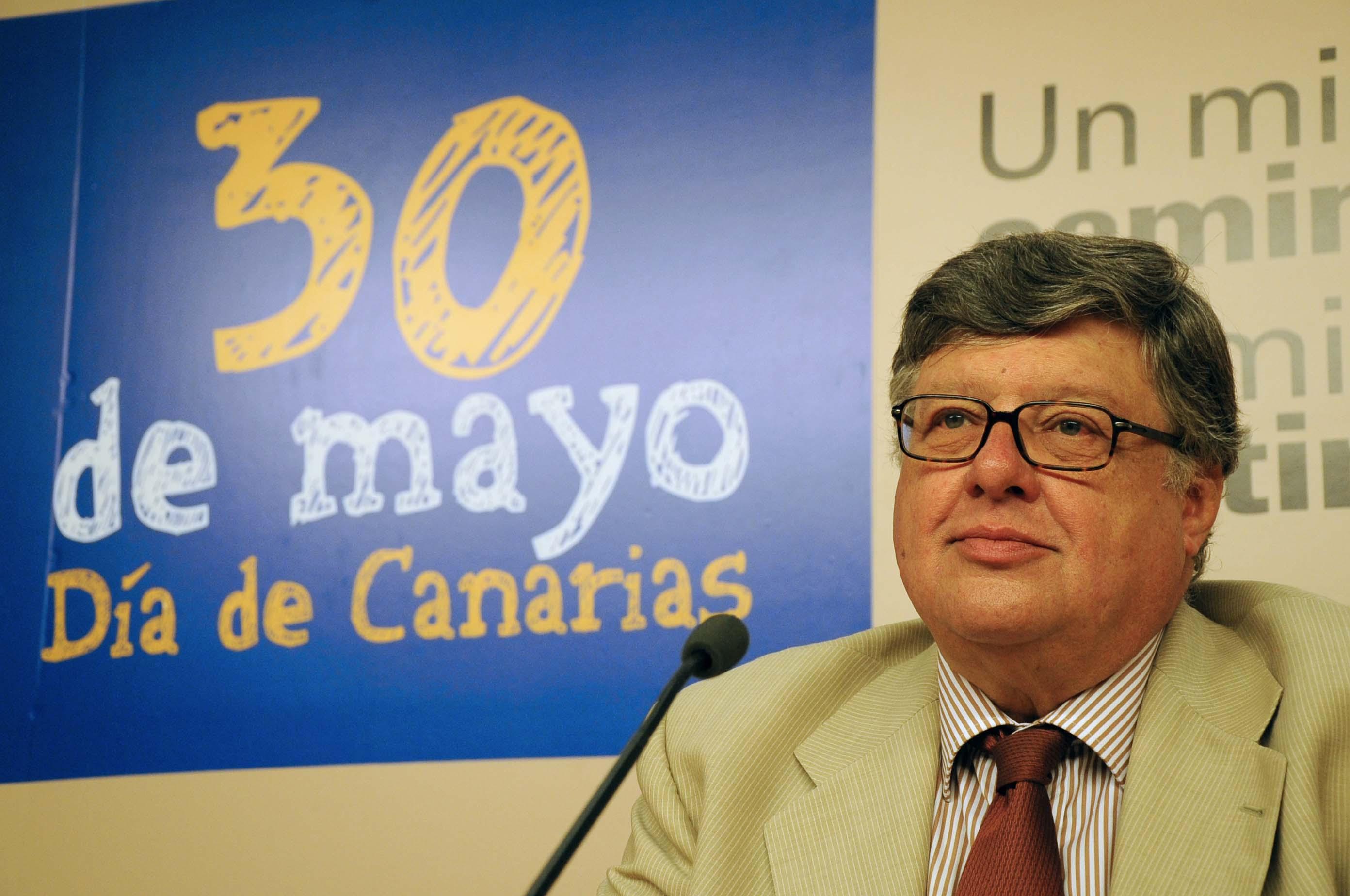 Alberto Delegado, Viceconsejero de Cultura del Gobierno de Canarias