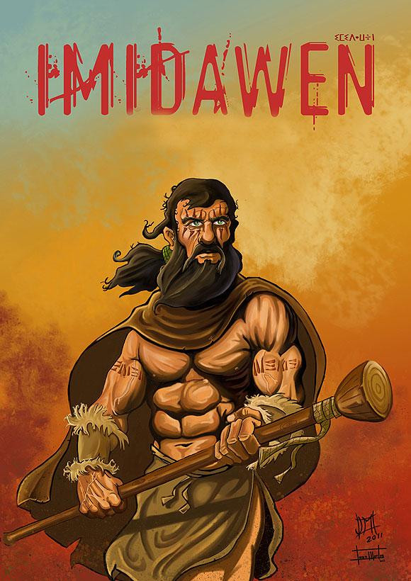 Imidawen, el cómic