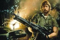 Chuck Norris, saliendo para Gran Canaria