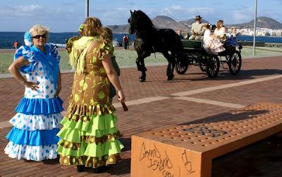 Feria de Abril, Las Palmas de Gran Canaria (Sevillanismo)