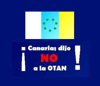 Canarias dijo NO a la OTAN