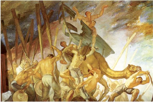 Jesus Arencibia - Los Dolores del mar- Oleo sobre lienzo, 19