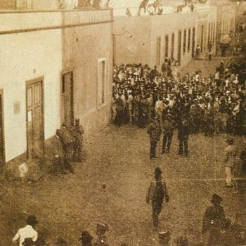 El lugar de los hechos, el 15 de noviembre de 1911