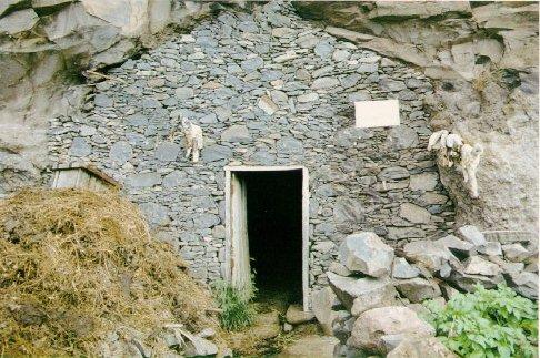 Cueva de Guahedum, La Gomera.