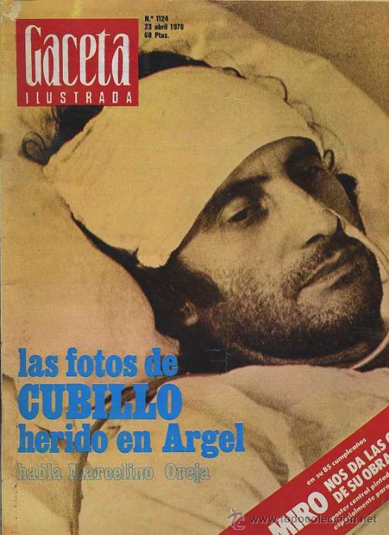 Cubillo herido en Argel