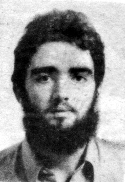 Bartolomé García Lorenzo, asesinado por la policía a los 21 años.