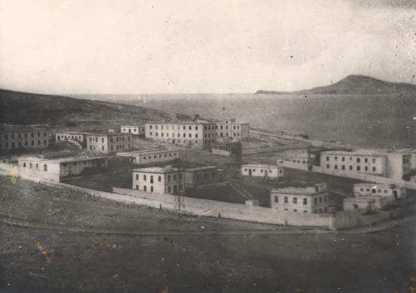Antiguo Lazareto de Gando, reconvertido por los golpistas en Campo de Concentración.