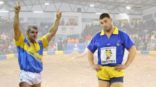 Agustin Mayor y Agustin Gonzalez