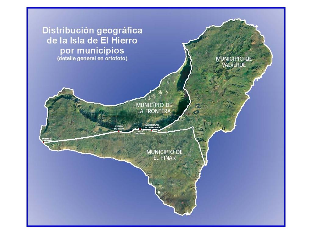 El Hierro y sus tres municipios