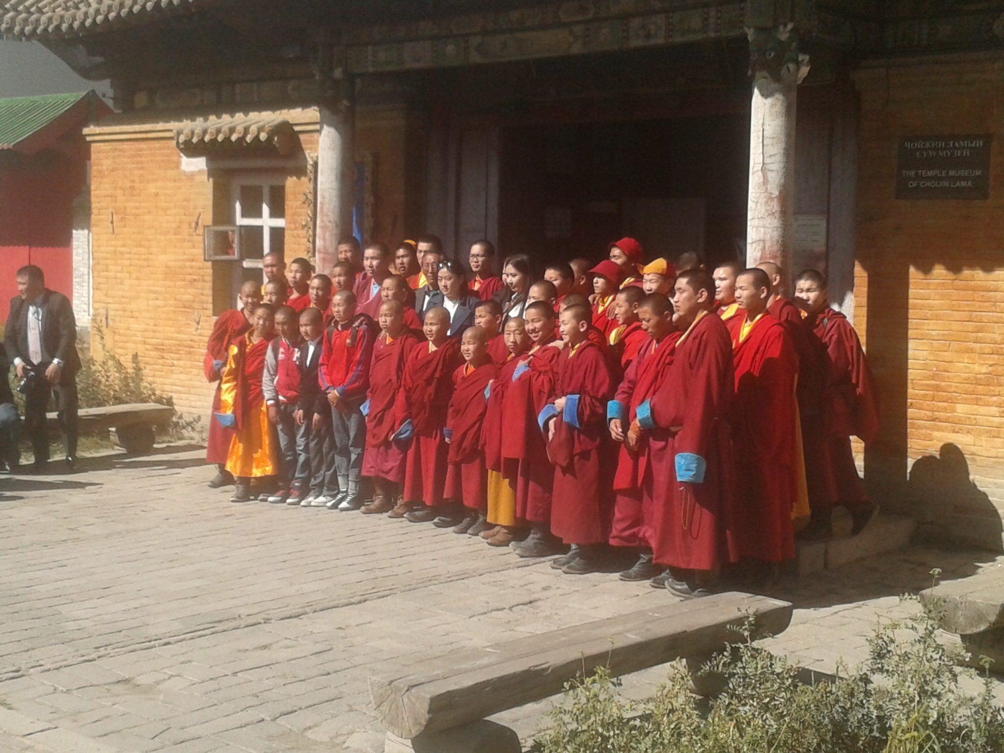 Monjes Budistas Ulan Bator