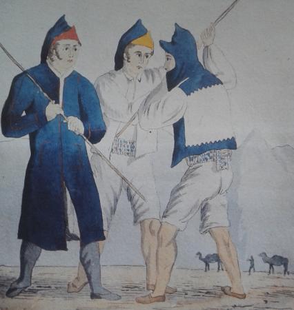 Majoreros_y_conejeros garrote_Alfred Diston 1830