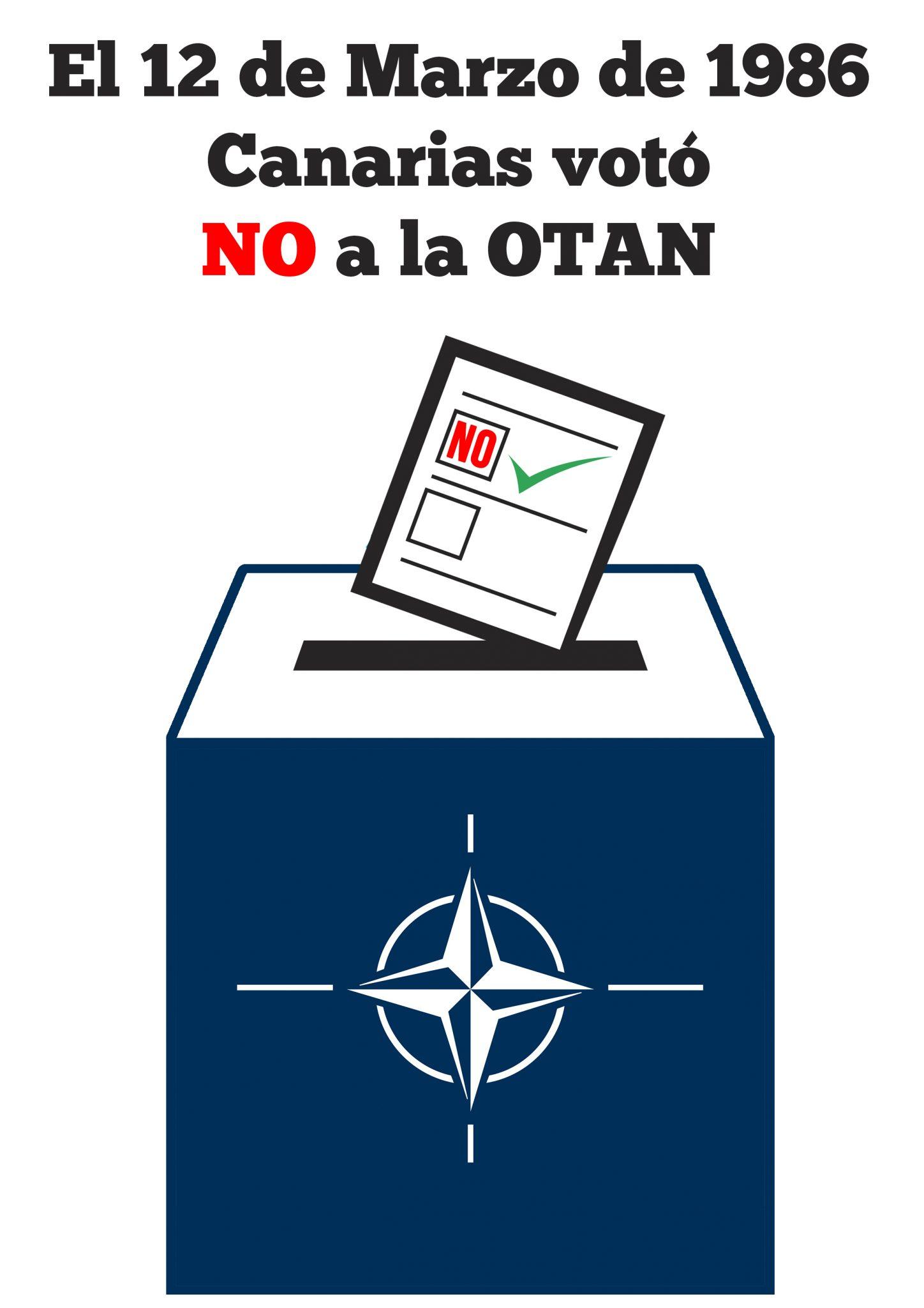 Canarias dijo No el 12 de marzo de 1986