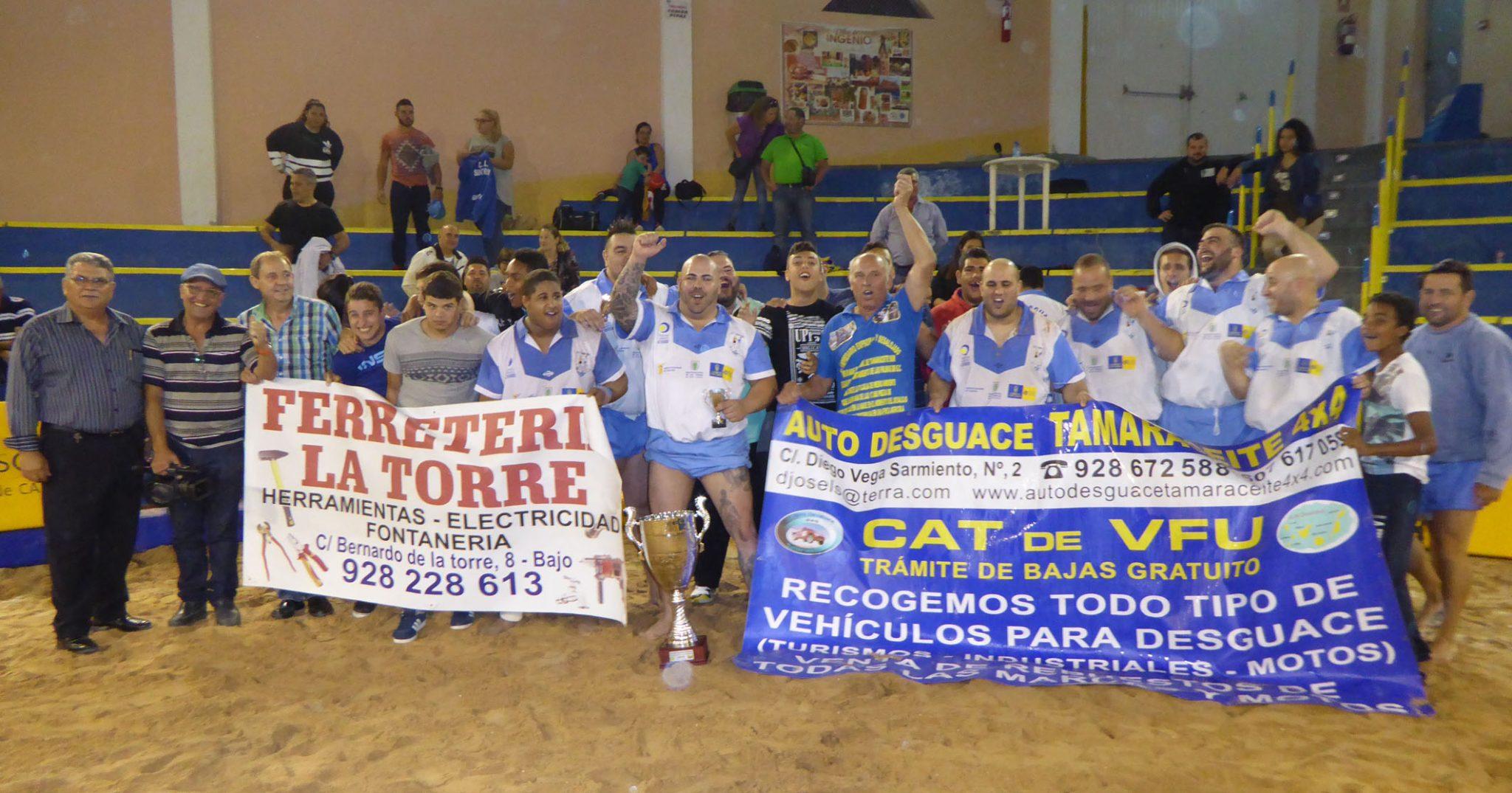 CL SANTA RITA, vencedor en Tercera Categoria de la XXXVIII Copa Fundación Obra Social La Caja de Canarias 2016