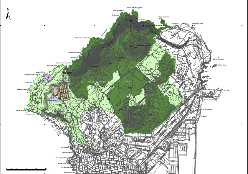 Zonificación La Isleta