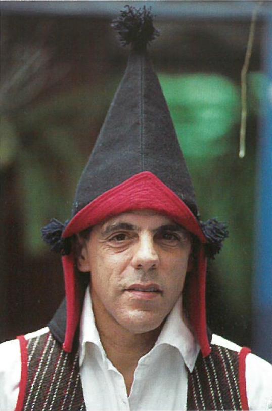 El etnógrafo José Antonio Pérez Cruz, 'Teno'