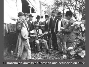 Rancho de ánimas de Teror 1968